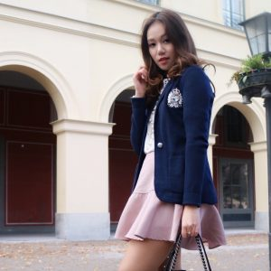 Preppy College Look with Autumn Must-Haves | THE DAILY HAPPINESS