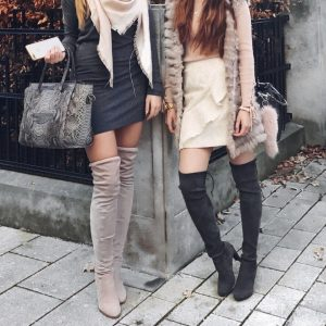 How To Style Your Overknees | THE DAILY HAPPINESS