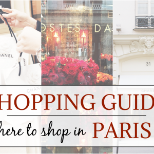 Paris Shopping Guide Beitragsbild