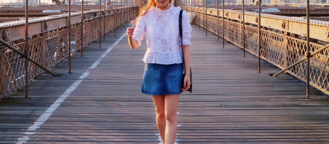 Denim Skirt Guide - How To Wear This Summer Trend | The Daily Happiness