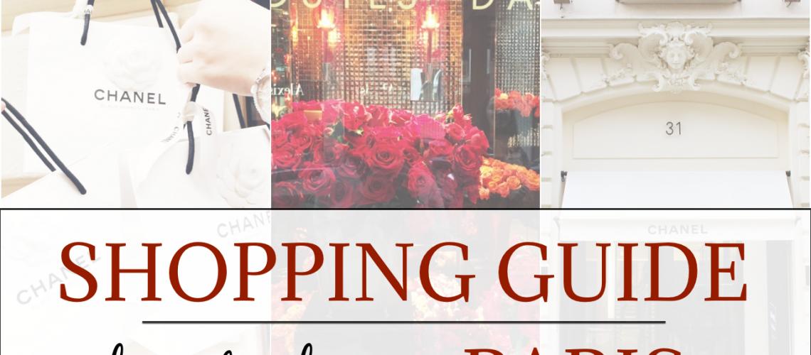 Paris Shopping Guide Beitragsbild